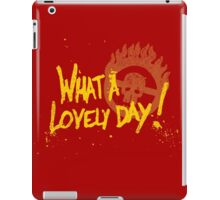 What a day! iPad Case/Skin
