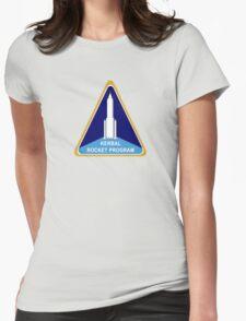 Kerbal Rocket Program logo Womens Fitted T-Shirt