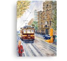 Vintage Tram, Melbourne Canvas Print