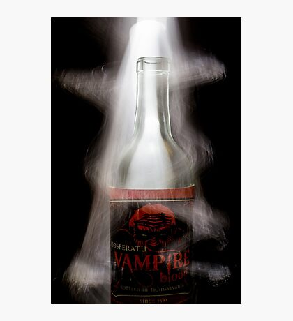 The Aura of a Vampire light painting photograph Photographic Print