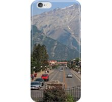 Downtown Banff  iPhone Case/Skin
