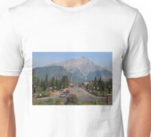 Downtown Banff  Unisex T-Shirt