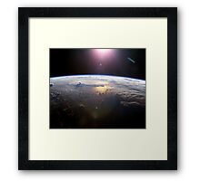 Deep Earth Framed Print