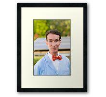Bill Nye The Highest Guy Framed Print
