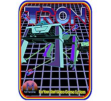 Vintage Tron Game Photographic Print