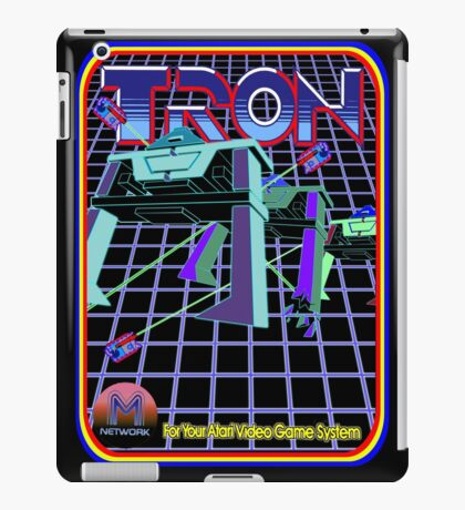 Vintage Tron Game iPad Case/Skin