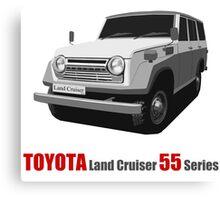 TOYOTA Land Cruiser 55 Series Canvas Print