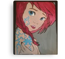 The Missing Piece Canvas Print