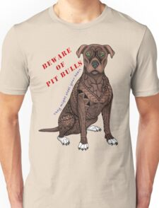 Pit Bull (They might steal your heart) Unisex T-Shirt