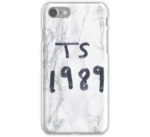 T. S. 1989 marble  iPhone Case/Skin