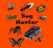 Bugs Volkswagen Bug Hunter Vintage Kids Tee