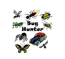 Bugs Volkswagen Bug Hunter Vintage Photographic Print