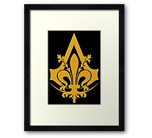 French Brotherhood Insignia Framed Print