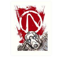 Psyched for the Hunt (Borderlands) Art Print
