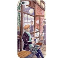 Melbourne's smallest coffee shop iPhone Case/Skin