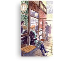 Melbourne's smallest coffee shop Canvas Print