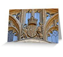 Royal Coat of Arms at Windsor Greeting Card