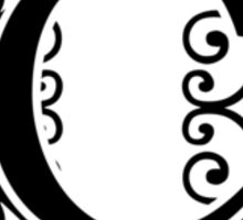 Letter C Monogram Sticker