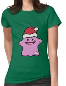 CHRISTMAS DITTO CLAUS Womens Fitted T-Shirt