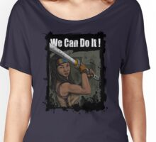 Michonne: We Can Do It! Women's Relaxed Fit T-Shirt