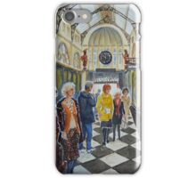 Shopping in Royal Arcade, Melbourne iPhone Case/Skin