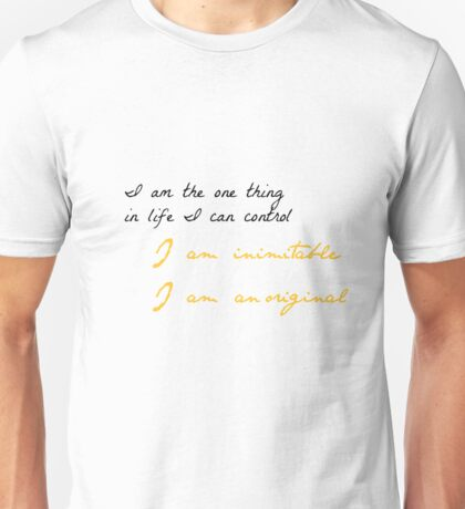 One Thing In Life Unisex T-Shirt