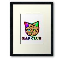 Rap Club Framed Print