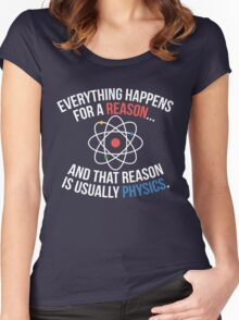 Always Physics Women's Fitted Scoop T-Shirt