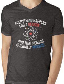 Always Physics Mens V-Neck T-Shirt