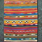 Tribal Inspired Rug by Jim  Deghand