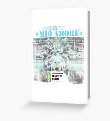 Mio amore Greeting Card