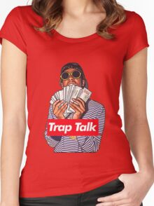 Rich the kid Women's Fitted Scoop T-Shirt