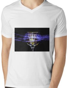 Cheese and Wine Mens V-Neck T-Shirt