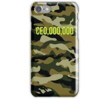 CEO CE0,000,000 iPhone Case/Skin