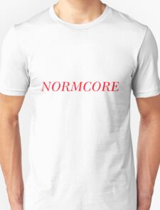 NORMCORE [Red] Unisex T-Shirt
