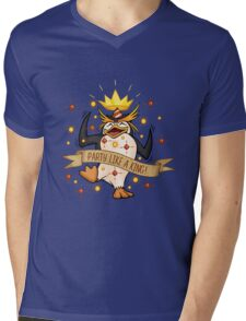 King Penguin - Party Like a King Edition Mens V-Neck T-Shirt
