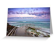 Mettams Pool, Perth, Western Australia Greeting Card