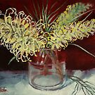 Grevillea Still Life by Margaret Stockdale
