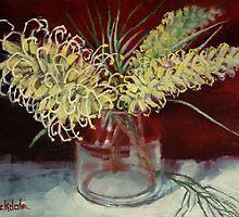 Grevillea Still Life by Margaret Stockdale