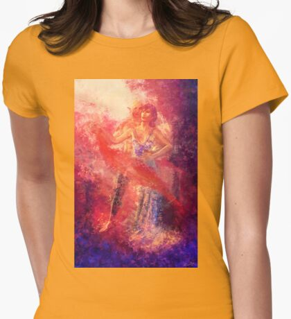 Fenris and Marian Hawke Dance Womens Fitted T-Shirt