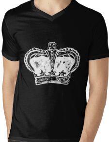 king crown vintage Mens V-Neck T-Shirt