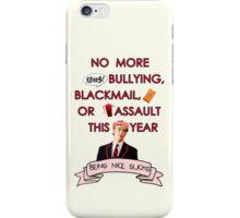 Being Nice Sucks (Pink) iPhone Case/Skin