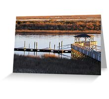 Atlantic Intracoastal Waterway Greeting Card