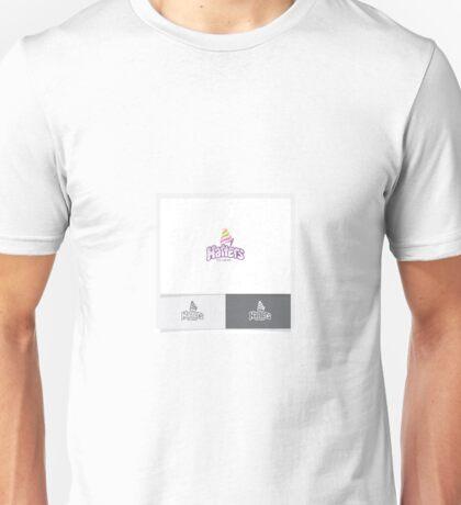 Logo Design for Hatters Icecream Unisex T-Shirt