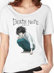 Death Note - L Women's Relaxed Fit T-Shirt