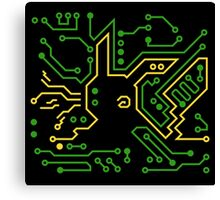 Electric Circuit Canvas Print
