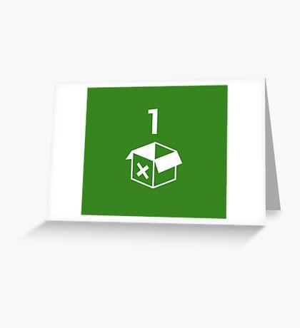Xbox One  Greeting Card