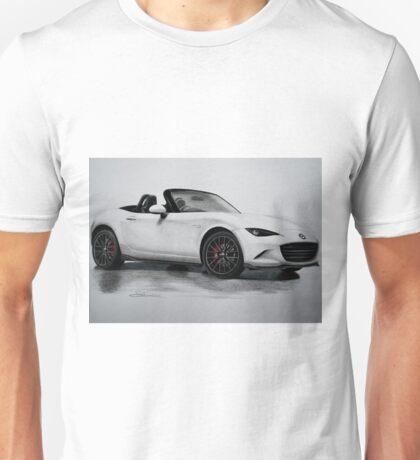 2016 Mazda MX-5 Miata Convertible - Rendering  Unisex T-Shirt