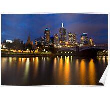 Magnificent Melbourne Poster
