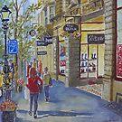 Block Arcade 3 by Virginia  Coghill